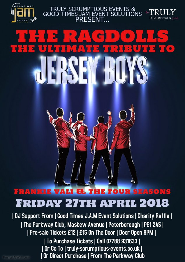 Tribute to the Jersey Boys and DJ Support