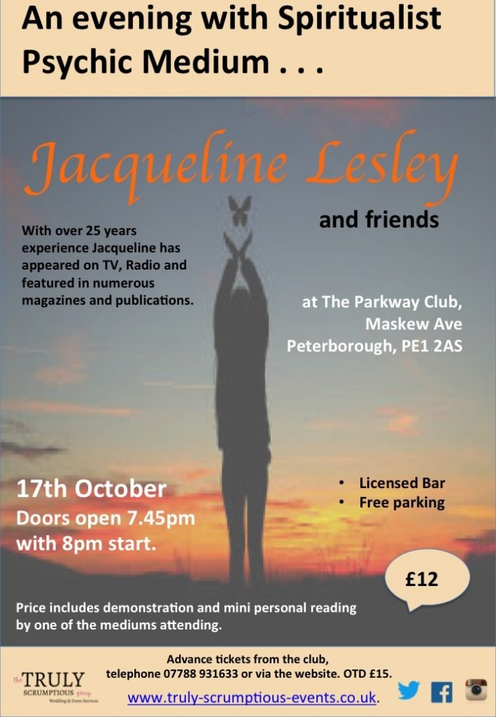 An evening with Jacqueline Lesley and friends