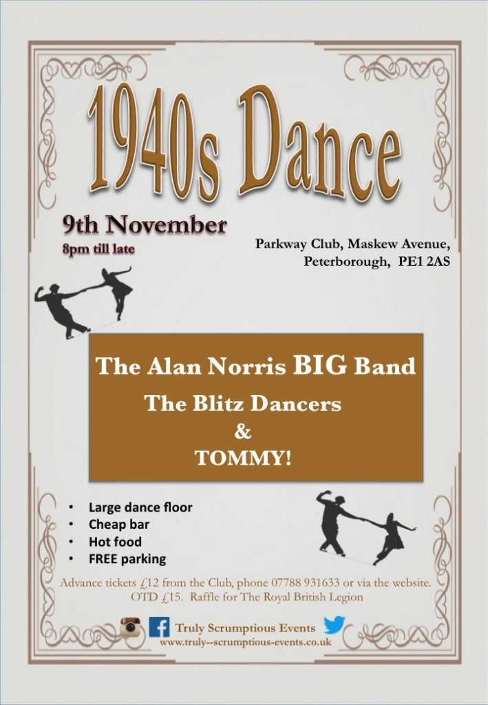 1940s Dance with Allan Norris Big Band & The Blitz Dancers