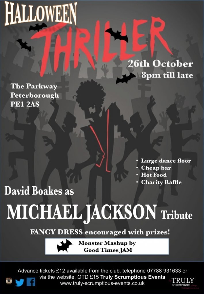 Halloween 'Thriller' with Michael Jackson Tribute and DJ