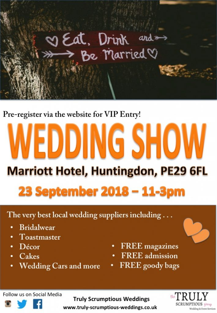 Marriott Hotel, Huntingdon WEDDING SHOW
